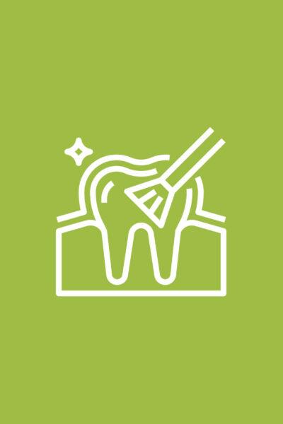Endodontie, professionelle Zahnreinigung